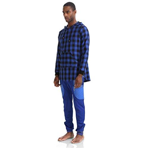 pizoff-t-shirt-manches-courtes-homme-bleu-xx-large