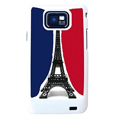 Coque Samsung S2 blanche Paris by Cbkreation