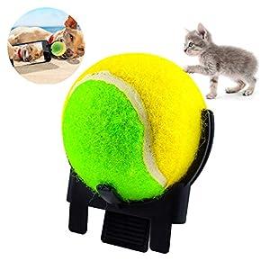 Ansblue Portable Pets Selfie Stick Ball Access Accessoire de caméra Smartphone pour Train Ball Dog Photos Peut Faire Une pièce jointe Son Chien Chat Prendre des Photos Jouet d'entraînement