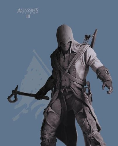 tex194-s Abysse Assassin 's Creed Connor Stand Up kurzen Ärmeln Herren Basic T-Shirt (klein) (Assassins Creed Kostüm Hoodie)