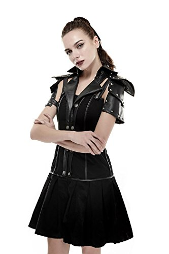 meet 65e70 92e72 Punk Rave - Vestito - Donna nero Small