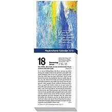 Neukirchener Kalender 2018: Abreißkalender in großer Schrift - Block mit 384 Blättern, zum Aufstellen oder Aufhängen, mit integrierter Rückwand
