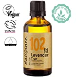 Naissance Aceite Esencial de Lavanda n. º 102 - 50ml - 100% puro, vegano y no OGM GMO
