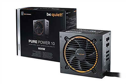 be quiet! Pure Power 10 600W ATX PC Netzteil BN278 mit Kabelmanagement