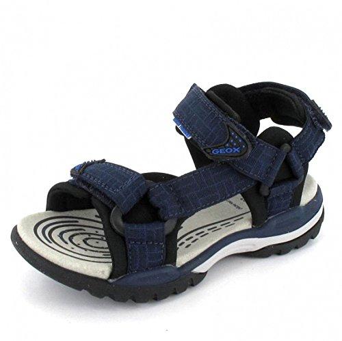 GEOX J BOREALIS J620RD-00011/C4367 Unisex - Kinder Sandalette, Blau 41 EU
