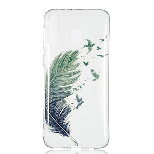 Stylishen Glamour Glitzer Crystal Bumper Hülle für Huawei P30 Lite,Glänzend Bling Glitzer Kristall Diamond Crystal Durchsichtig TPU Silikon Gel Hülle -