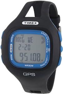 Timex T5K639 - Reloj digital de cuarzo unisex con correa de plástico, color negro de TX Watches