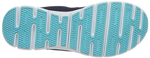 Skechers SynergyScene Stealer Damen Sneakers Blau (NVPK)
