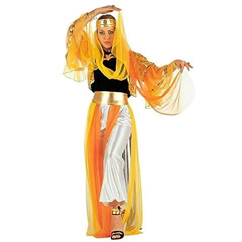 Orient Kostüm Harem Bauchtanzkostüm XL 46/48 Haremsdame Damenkostüm Bauchtanz Fasching Arabische Prinzessin Faschingskostüm Bauchtänzerin Karnevalskostüm Damen 1001 Nacht Mottoparty Verkleidung Karneval Kostüme Frauen