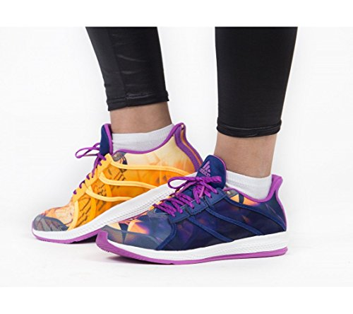 adidas Gymbreaker Bounce, Scarpe Sportive Donna Viola (Pursho / Dorsol / Ftwbla)
