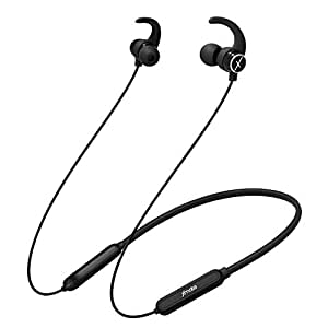 Xmate Mana Bluetooth Headphones with Qualcomm Chipset, High Bass Noise Canceling Wireless Earphones, 7 Hours Music time, Hi-Fi Magnetic Stereo Headphones & Hands-Free, Sports in-Ear Earbuds (Black)