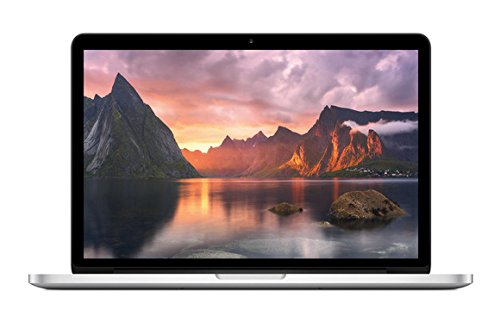 Apple MacBook Pro Retina MF839D/A 33,8 cm (13,3 Zoll) Notebook (Intel Core i5 5257U, 2,7GHz, 8GB RAM, 128GB SSD, Mac OS) silber