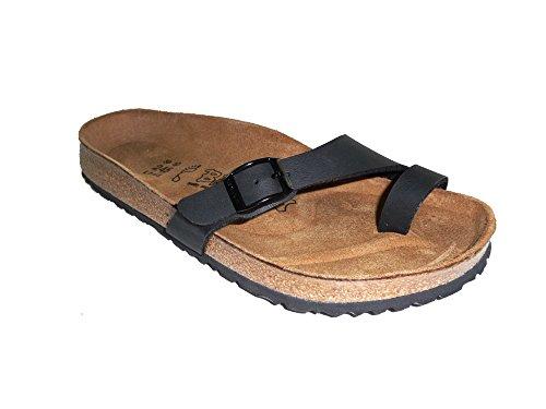 BIRKI'S BIRKENSTOCK HOLLY scarpe sandali infradito donna Black