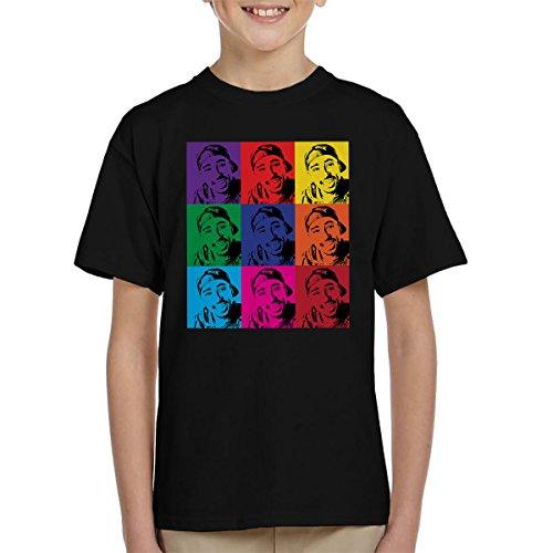 Tupac Shakur Pop Art Kid's T-Shirt