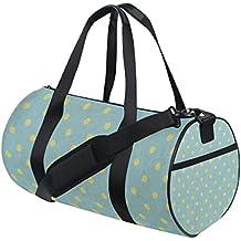 jstel Cool Vintage diseño de lunares bolsa de deporte gimnasio para hombres  y mujeres bolsa de cfe932bea1611