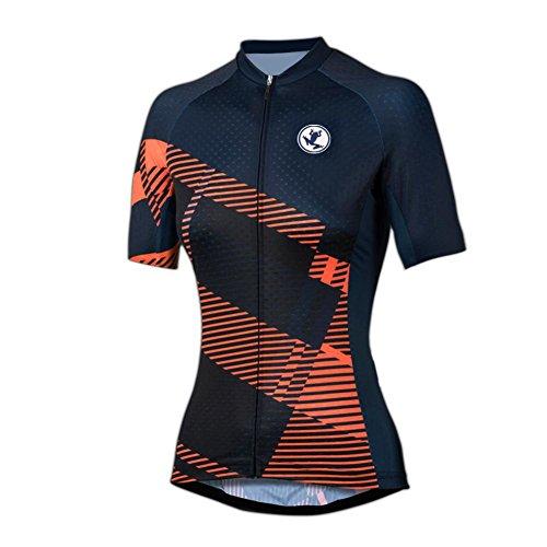 Uglyfrog Abbigliamento Ciclismo Donna Asciugatura Veloce Maglia Manica Abbigliamento Sportivo da Equitazione DXC03