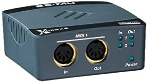 E-MU Midi 2 x 2 USB-MIDI-Interface 32 MIDI-Kanäle 2 MIDI Eingänge/2 MIDI Ausgänge Ultraschnelles MIDI