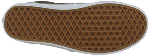 Vans Atwood, Baskets Homme Noir (S18 C/yellow)