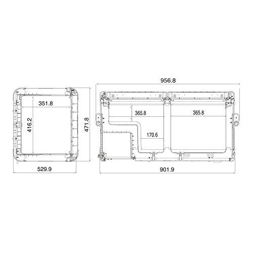 Dometic Waeco CFX 95dzw - Nevera de compresor portátil, 12V y 230V,...