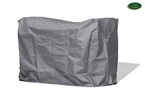 Premium Schutzhülle für Balkonset aus Polyester Oxford 600D - lichtgrau - von 'mehr Garten'