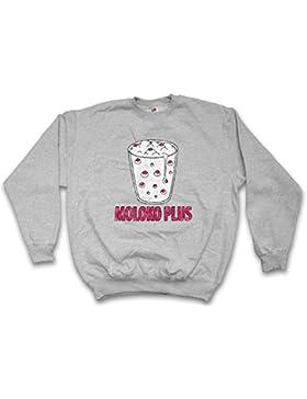 Moloko Plus Sweatshirt – La Naranja Leche Clockwork mecánica Alex Alexander Orange DeLarge Milk Korova Bar Punk...