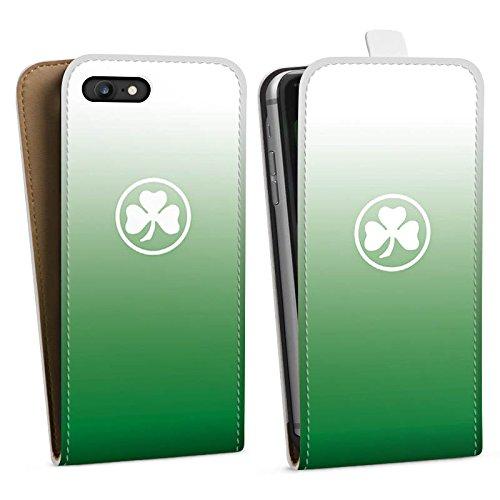 Apple iPhone X Silikon Hülle Case Schutzhülle SpVgg Greuther Fürth Fanartikel Fußball Downflip Tasche weiß