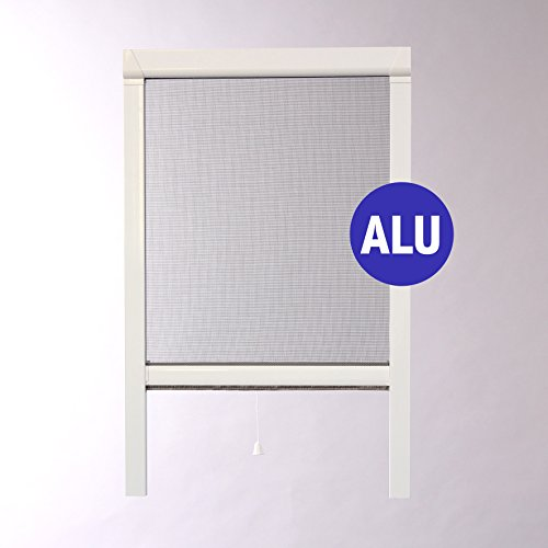 MOUSTIKIT Optima mosquitera Enrollable, PVC, Blanco, 80x 5x 100cm