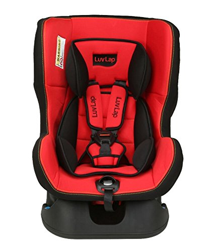 LuvLap Sports  Convertible Baby Car Seat Suitable for 0- 4 Year Baby (0-18kgs) - Red & Black