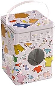 Color Washing Machine Iron Box Portable Washing Powder Gel Beads Storage Box (Color)