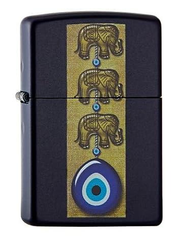 Zippo 60.002.049éléphant/Eye Collection Printemps 2016, bleu marine