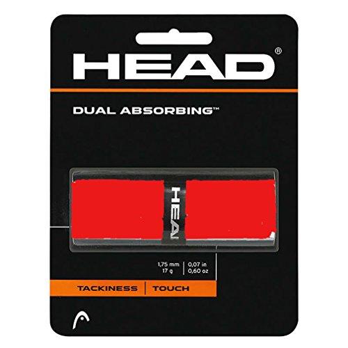 head-dual-absorbing-grip-x-1-grips-da-tennis-rosso
