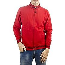 Ruffty Men's Cotton High Neck Sweatshirt Fullsleeve