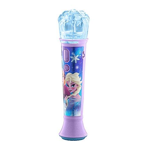 eKids FR-070 Frozen In Line Magical MP3 Sing Along Karaoke Microphone