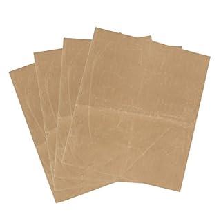 ChaRLes 4Pcs 40X50Cm Non-Stick Heat Press Transfer Ptfe Teflon Film Sheet Plate Baking Mat