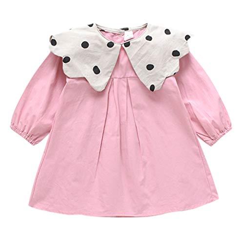Minnie Maus Outfit Ideen - Zegeey Baby MäDchen Kind Kleid Langarm