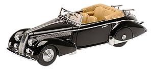 Minichamps 437125332-Alfa-Romeo Asturia Tipo 233Corto-1936-1/43-Negro