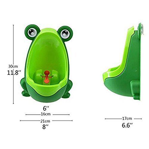 Froggy Baby Urinal - Perfect mommy' S Helper for potty training (verde scuro)