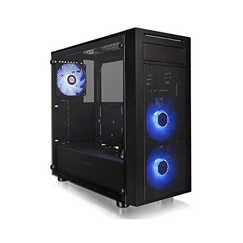 Thermaltake Versa J22 RGB TG (Tempered Glass) Midi Tower PC Gehäuse -