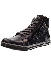 NERO GIARDINI hombre zapatillas de deporte A705361U / 200