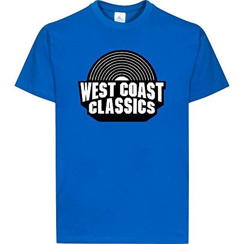 West Coast Classics - T-Shirt, royal, Gr. XS/164