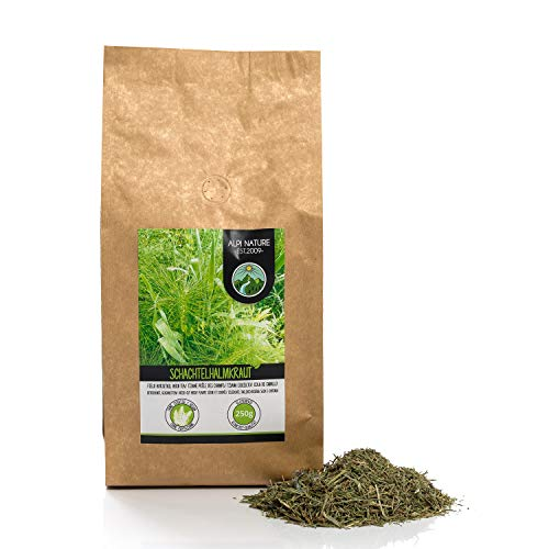 Schachtelhalmtee, Schachtelhalmkraut geschnitten, schonend getrocknet, Zinnkrauttee, Ackerschachtelhalm 100% rein und naturbelassen zur Zubereitung von Tee, Kräutertee, Schachtelhalm Tee (250 GR)