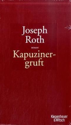 Buchseite und Rezensionen zu 'Die Kapuzinergruft' von Joseph Roth