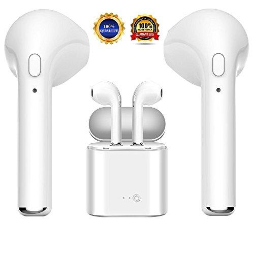 Auriculares Bluetooth Auriculares inalámbricos, Auriculares Mini con Kit de Carga Apto para...