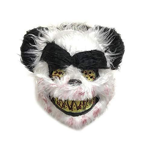 Bontand Scary Tiermaske Halloween Panda-Masken - - Panda Kostüm Streich