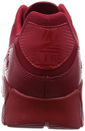 Nike Damen W Air Max 90 Ultra Essential Gymnastik, Rojo (Gym Red / Gym Red-University Red), 36.5 EU -