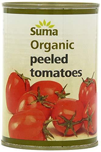 Suma Organic Peeled Tomatoes 400 g (Pack of 12)