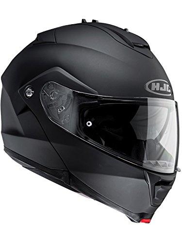 Hjc Matt Schwarz Is-Max 2 Motorrad-Klapphelm (Large, Schwarz)