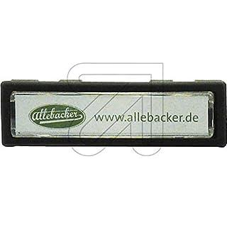Allebacker 10er Pack Namensschild anthrazit 00AA-NS-80018