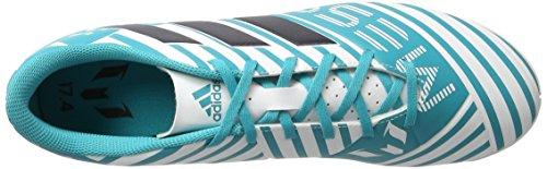 adidas Herren Nemeziz Messi 17.4 in Fußballschuhe Blau (Footwear White/Legend Ink/Energy Blue)
