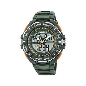 Calypso Watches Reloj Analógico-Digital para Hombre de Cuarzo con Correa